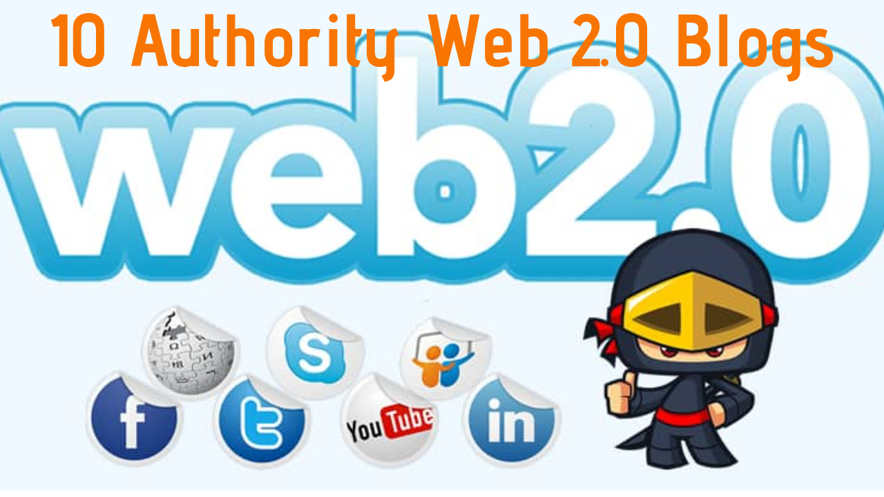 Get 15 Authority Web 2.0 Links to improve Search Rankings