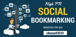 I will do 30 social bookmarking for high da pa sites.