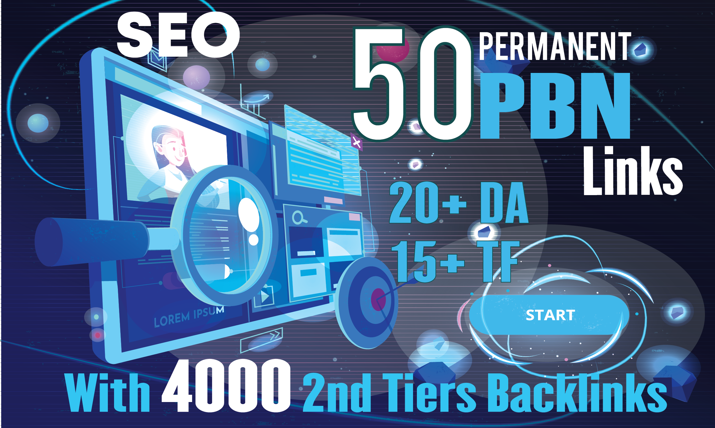 Build 50 Homepage Permanent PBN With 4000 2nd Tiers Backlinks