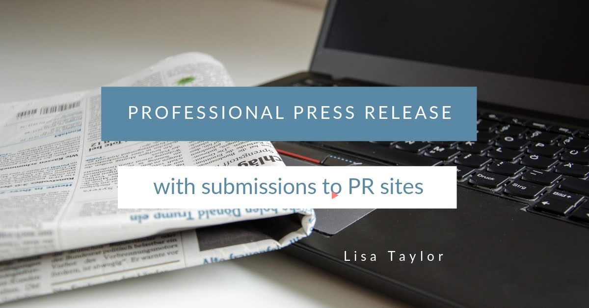 500 Word Professional SEO Press Release with 3 Submissions