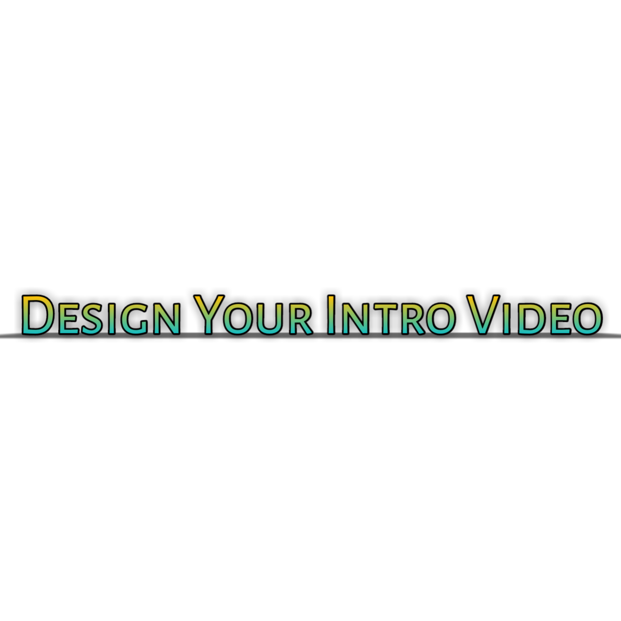 Make your animation intro video