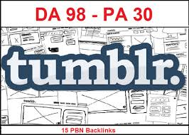 Build 15 PBN Permanent Backlinks High quality On DA 98 PA 30+ Tumblr to Improve SEO and Boost Google