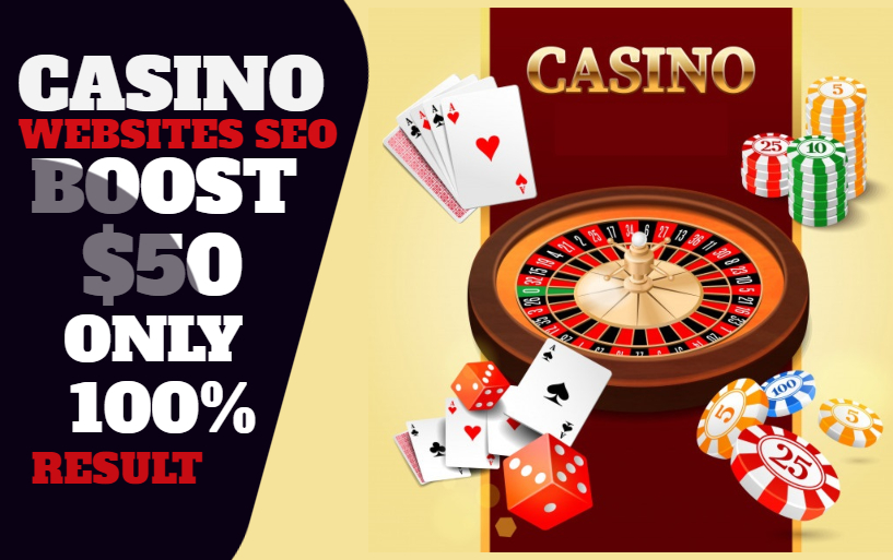 I Will Boost casino website and Improve Players