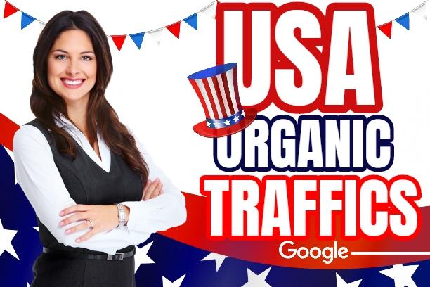 do USA Organic Real 50k Traffic