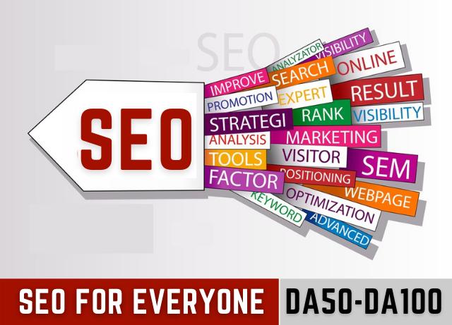 Complete SEO Service In Affordable Price,  Boost Site On Google 1st Page DA55-DA100 Backlinks