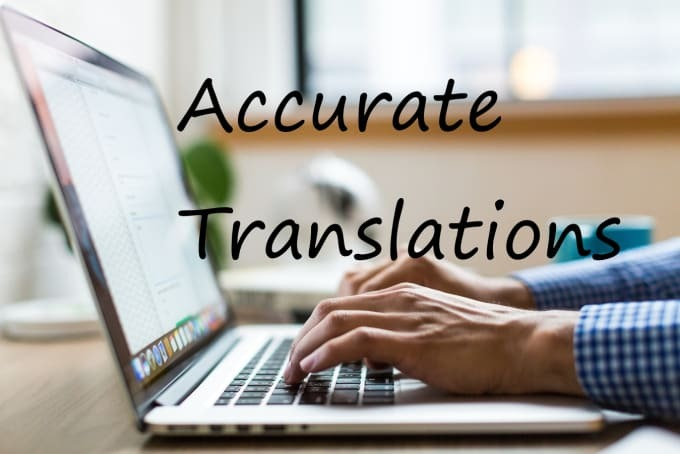 I will translate 1.000 words in one of 9 different Languages
