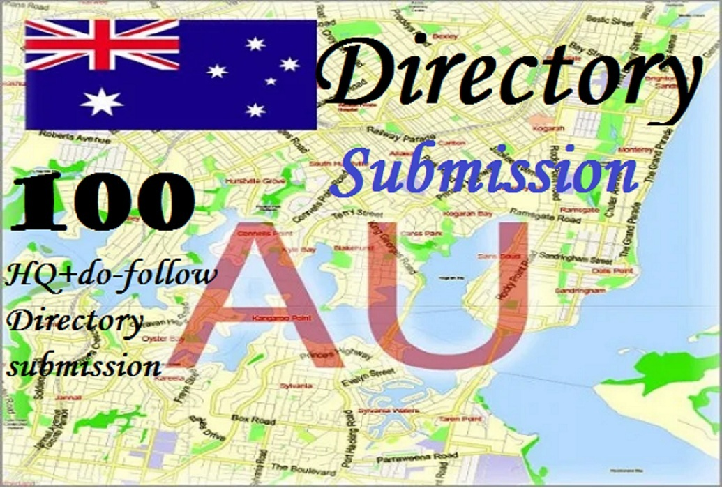 I will submit 100 Australia high quality Directory submission
