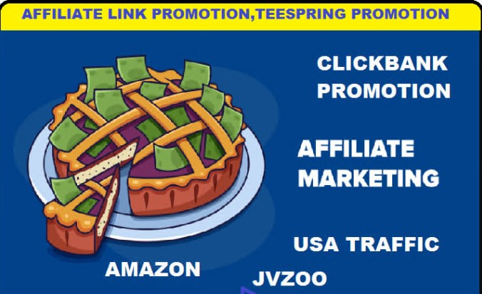 do viral affiliate website link promotion,  teespring,  clickbank marketing