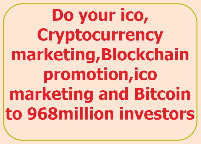 market, promote your ico, crypto, airdrop, token to ico investors on telegram