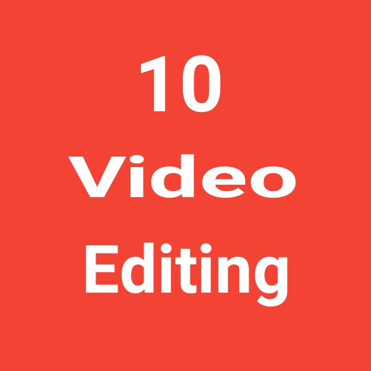 10 video editing high quality and fast delivery