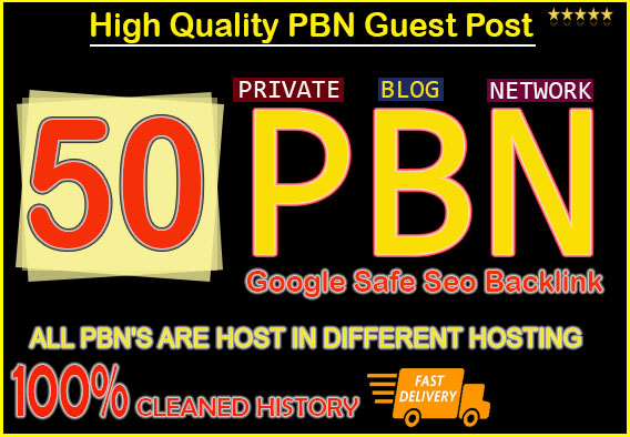 50 PBN HomePage Do-Folow DA 20+ Parmanent Post