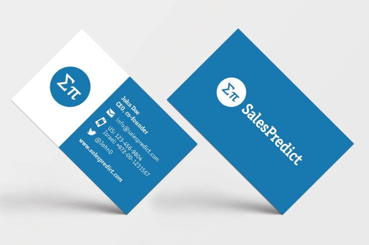 I will do professional business card design