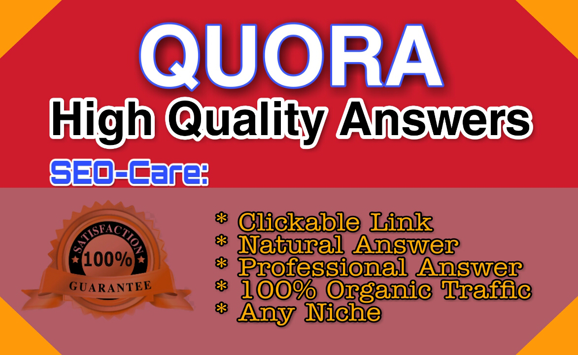 Promote Your Website In 30 High Quality Quora answer