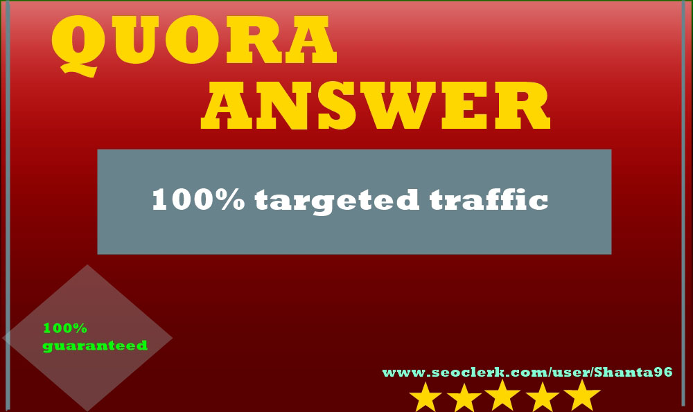 Intentionally advance your business website with highly engaging 25 Quora answers
