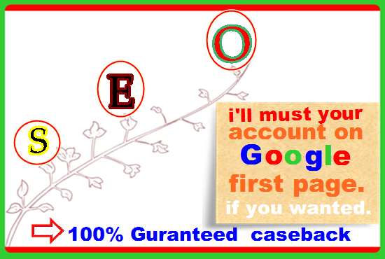 Google 1st page ranking on Your Website best result, Highquality Backlink.