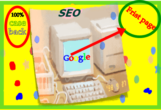 Guaranteed Google First page ranking service of SEO.