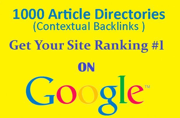 Boost Your Google Ranking With 1000+ High Quality Contextual Backlinks