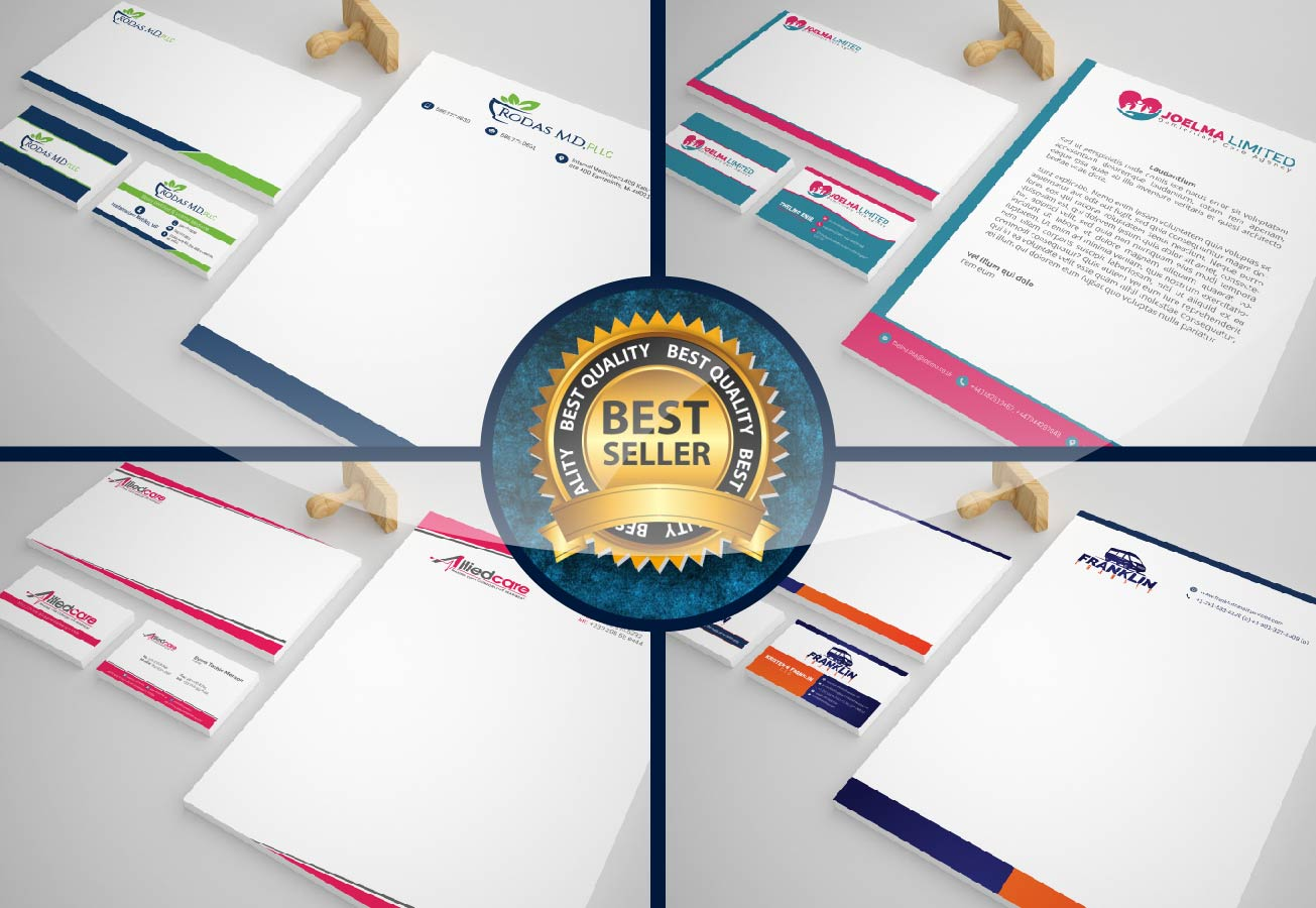 I will design premium Stationary design