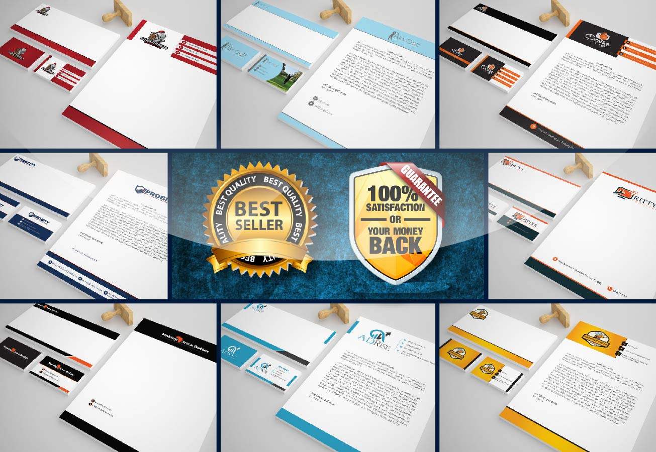 I will do logo,  business card,  letterhead & envelop