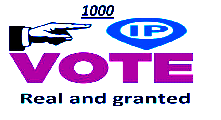 promote 1000 single clicks Different IP votes any contest