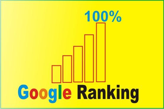 I will Rank your website on google,  20 days SEO backlinks manually