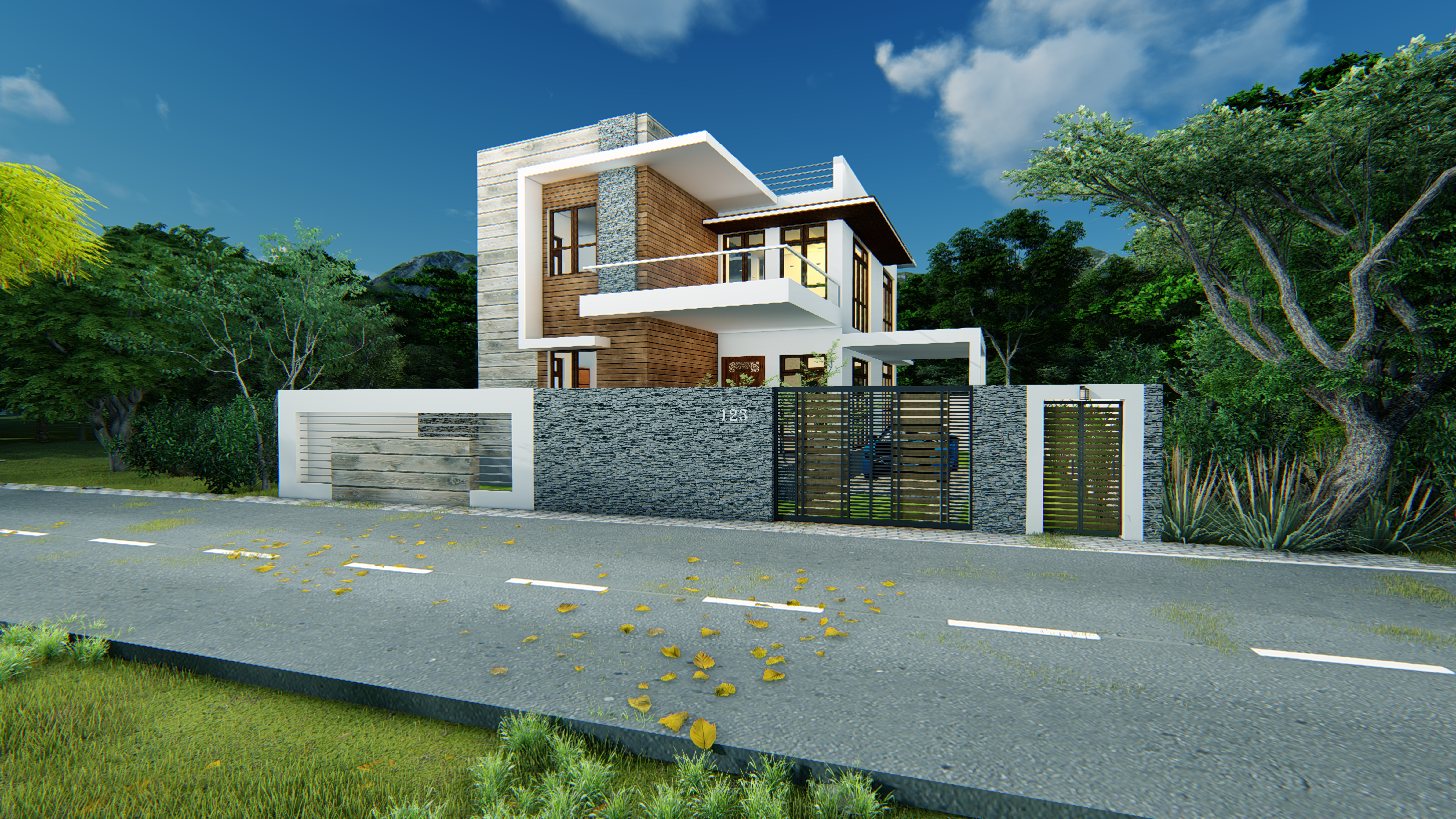 I will 3d design your house or building