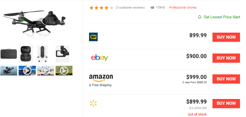 I will create a responsive comparison amazon affiliate website for you