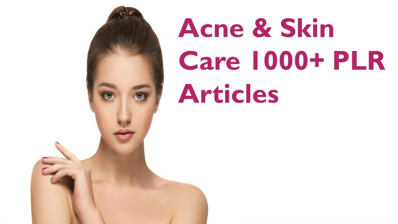 I will give Beauty, Acne & Skin Care 1000+ PLR Articles with Bonus 10 Free Ebooks