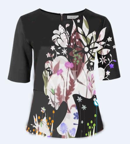 i will design custom T-shirt in 5 hr
