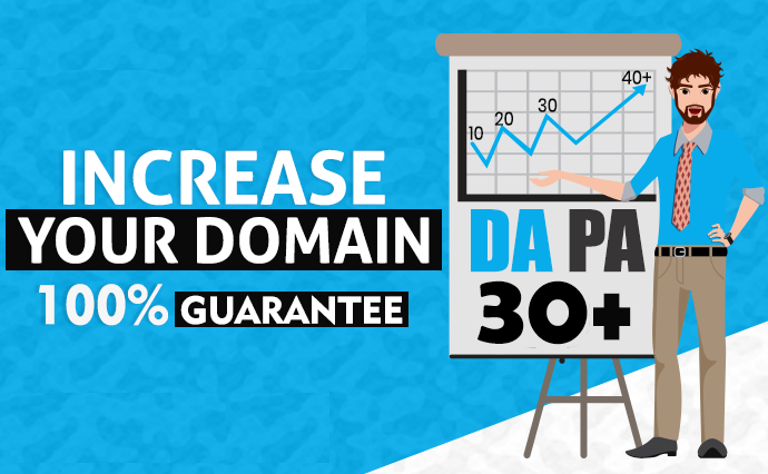 increase Moz Domain Authority 100 guaranteed