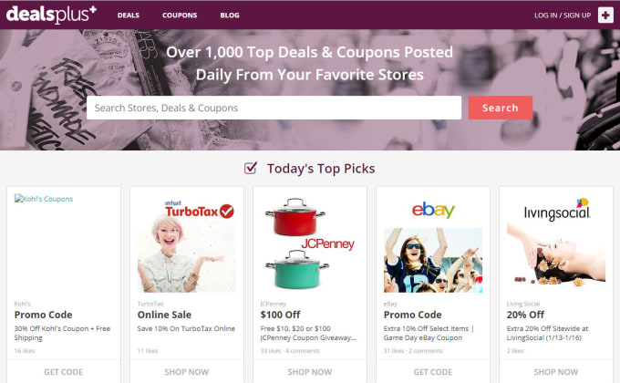 I will publish your deal on Dealsplus within 24 hours