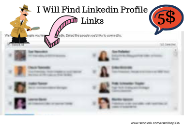I will do research profiles via linkedin and other social Media