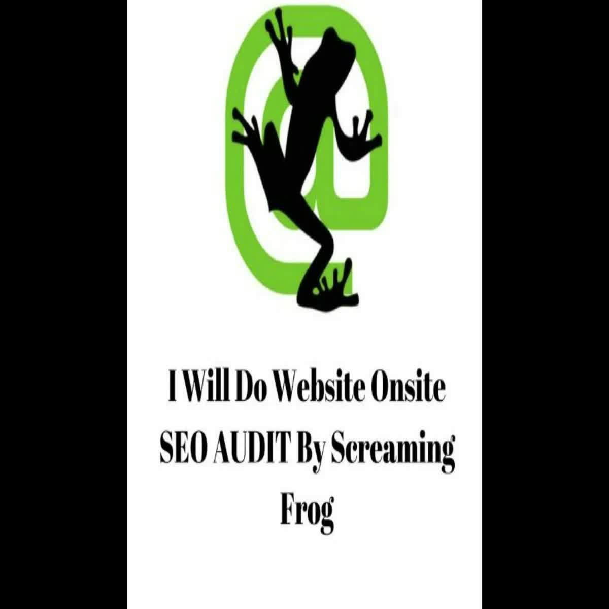 I Will do website onsite SEO AUDIT by Screaming Frog