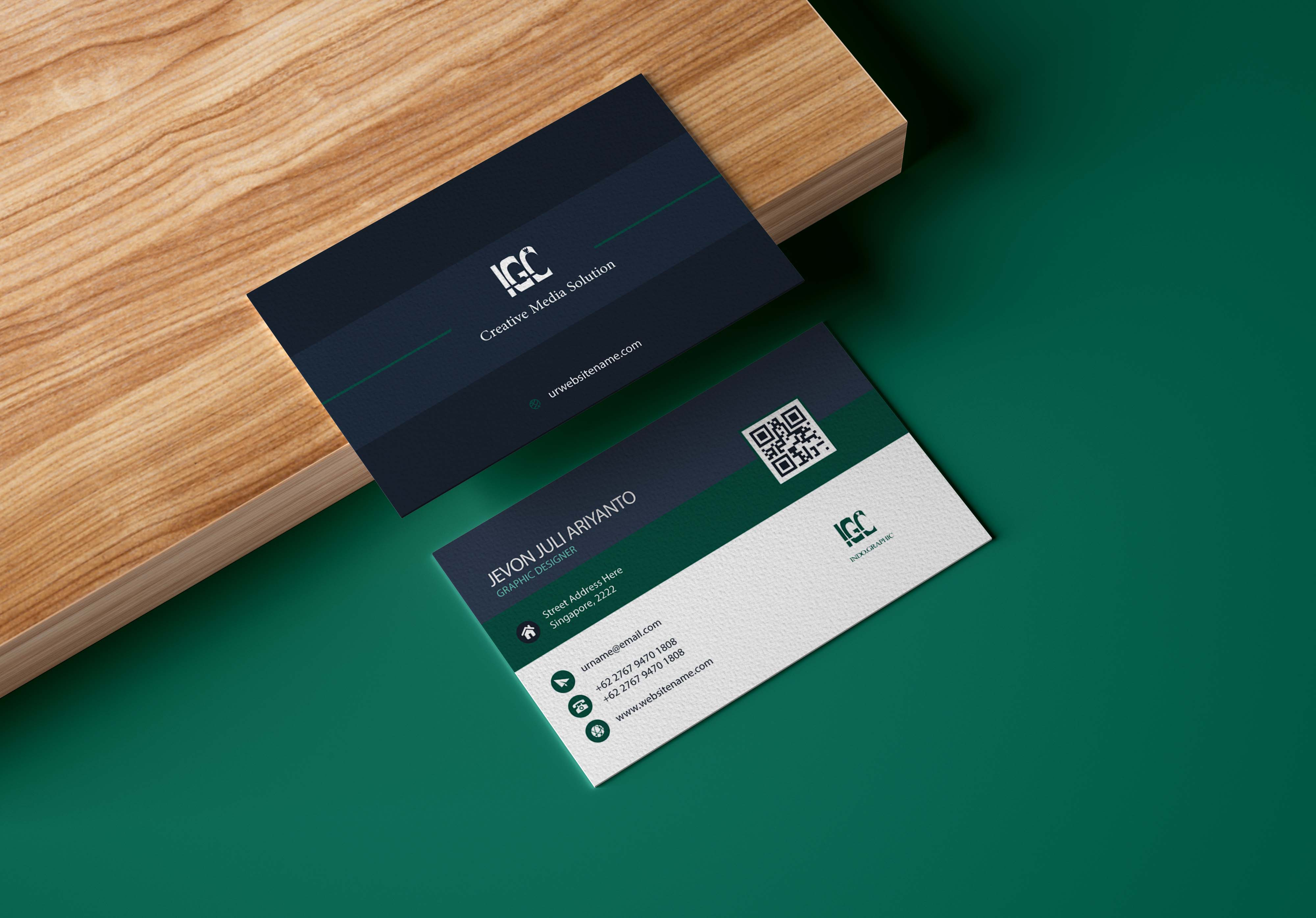 make one of Best and professional Business Card Design