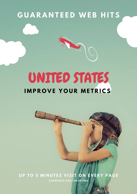 500 US traffic to your Website Improve your SEO metrics