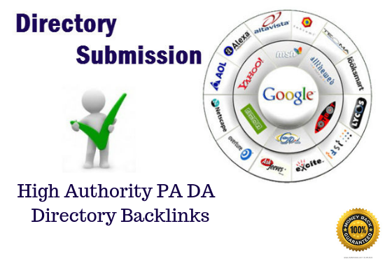 I will create 200 directory submission SEO backlinks