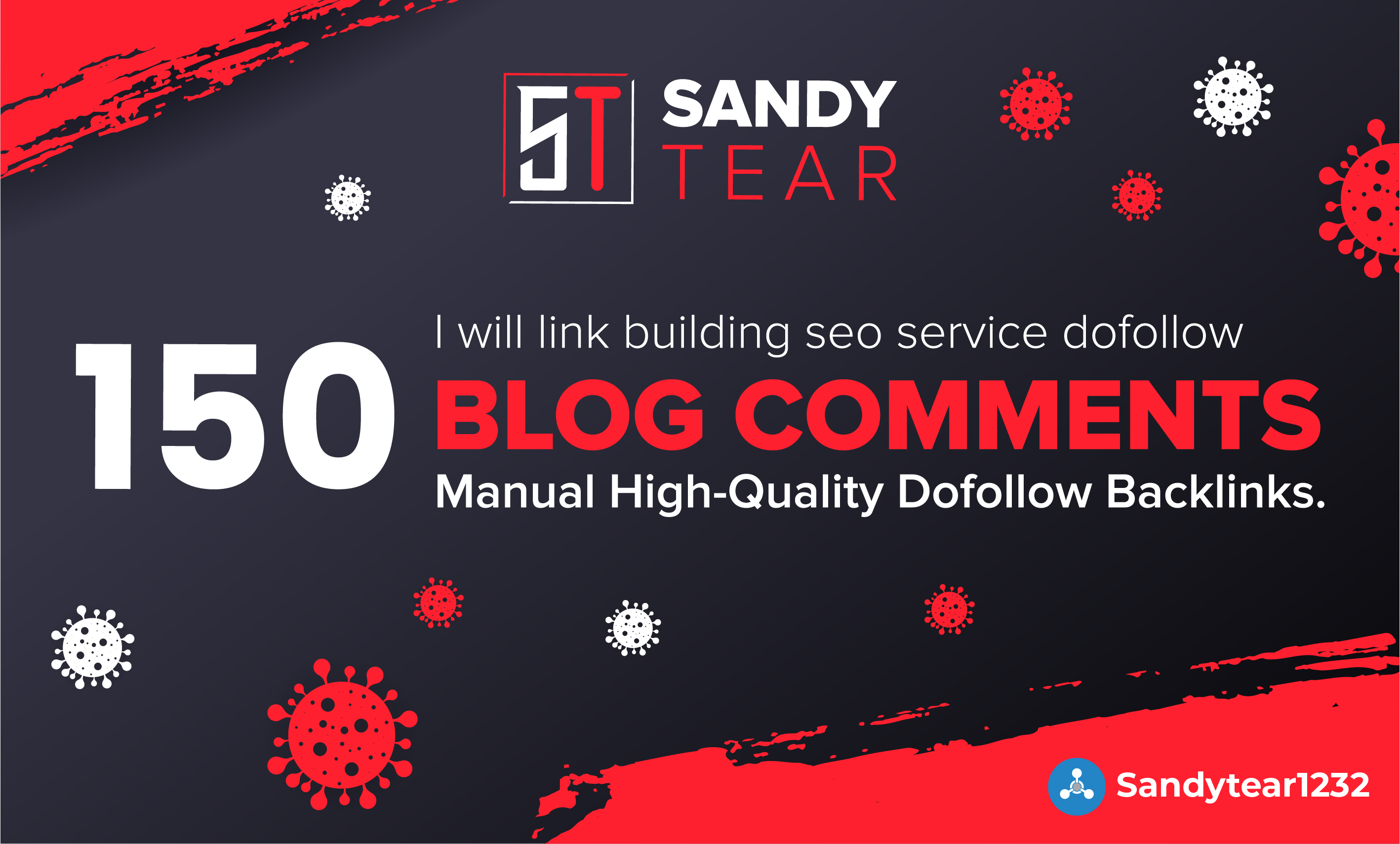 I will 150 blog comments link building SEO service dofollow backlinks