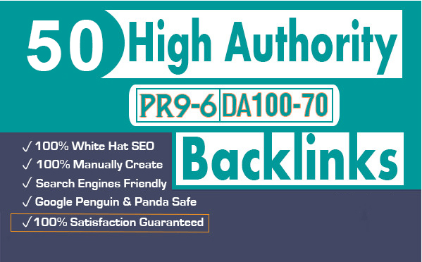 Profile BackLinks From High Authority Sites DA 70+
