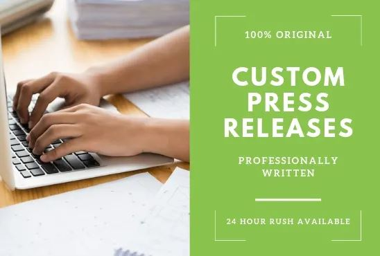 Premium Press Release Writing and Distribution