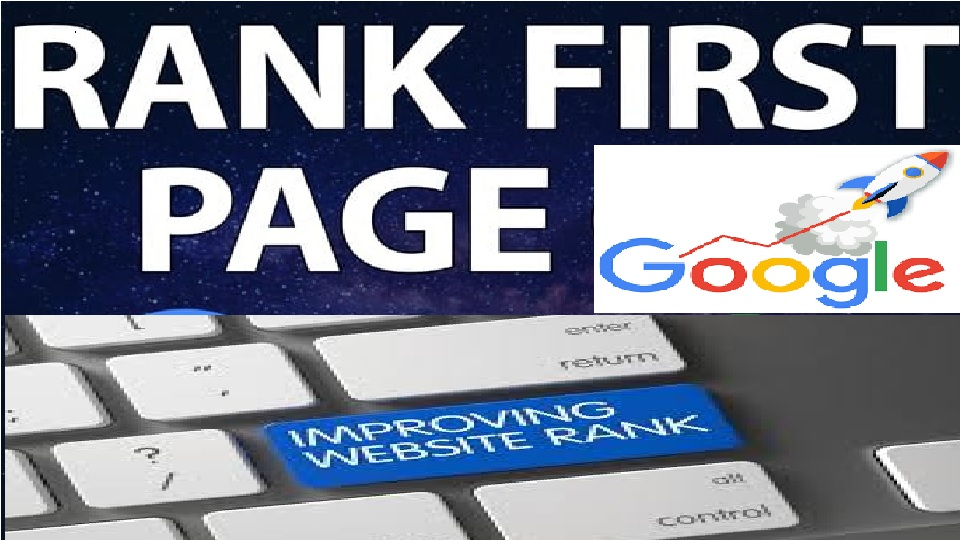 your website google first page rank