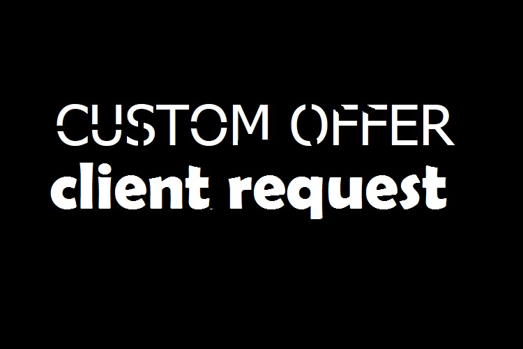 Buyer Custom offer client request