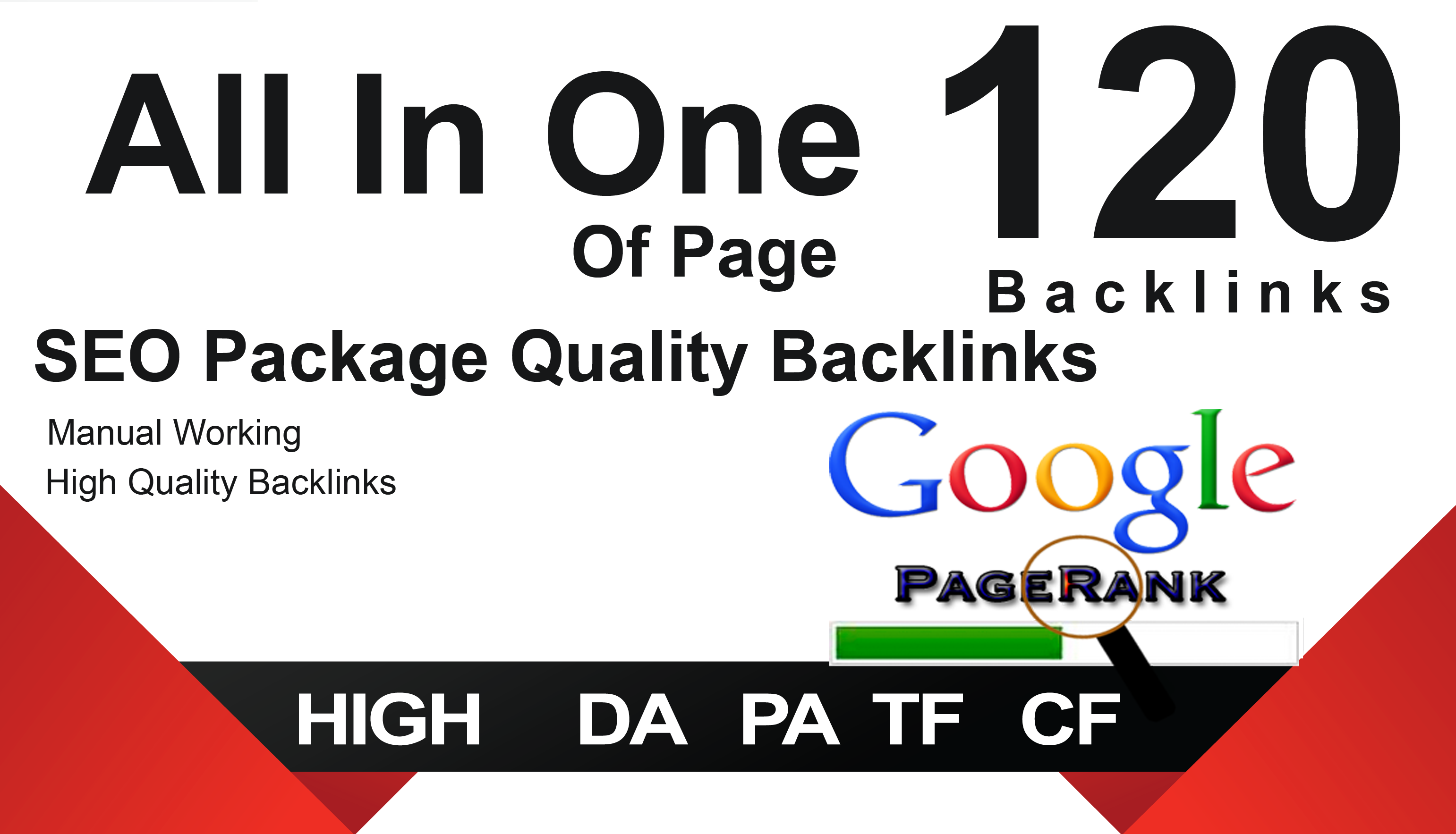 All In One Off Page SEO Package Get 120 Quality Back links
