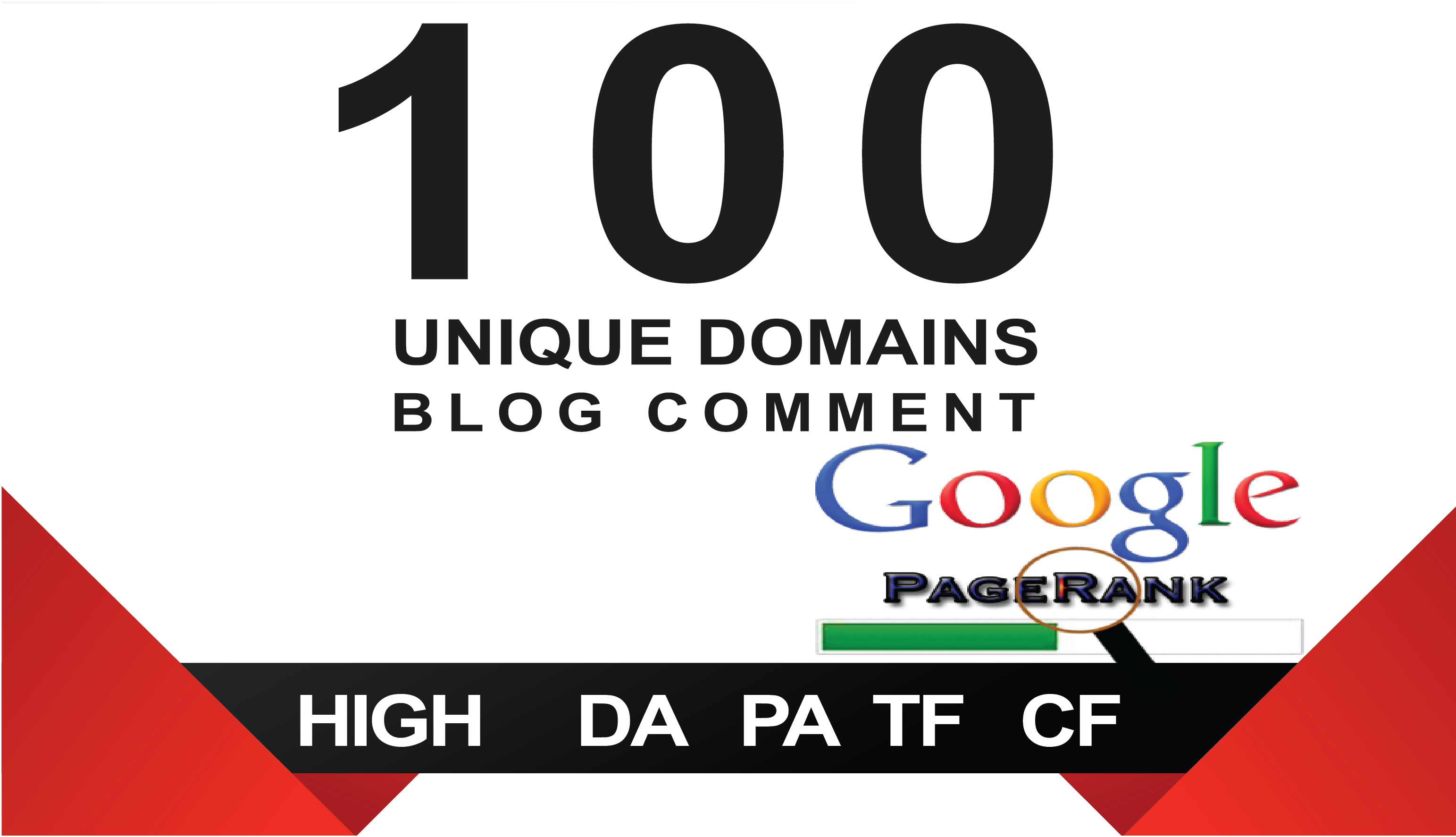 I will 100 Unique Domain Blog Comment Backlinks High DA.PA