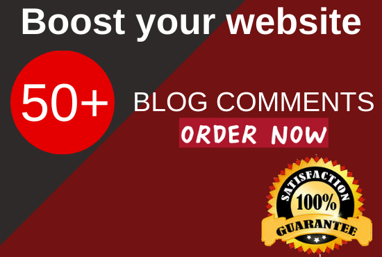 do 50 niche relevant blog comments