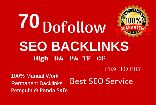 create 70 high authority pr9 profile backlinks