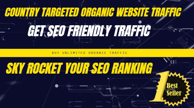 10k SEO friendly Traffic from any country and source for 20 days