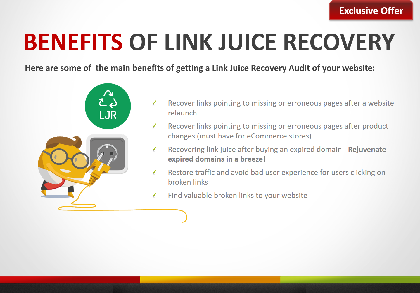 Link Juice Recovery Report - 404 Pages Leaking Link Juice