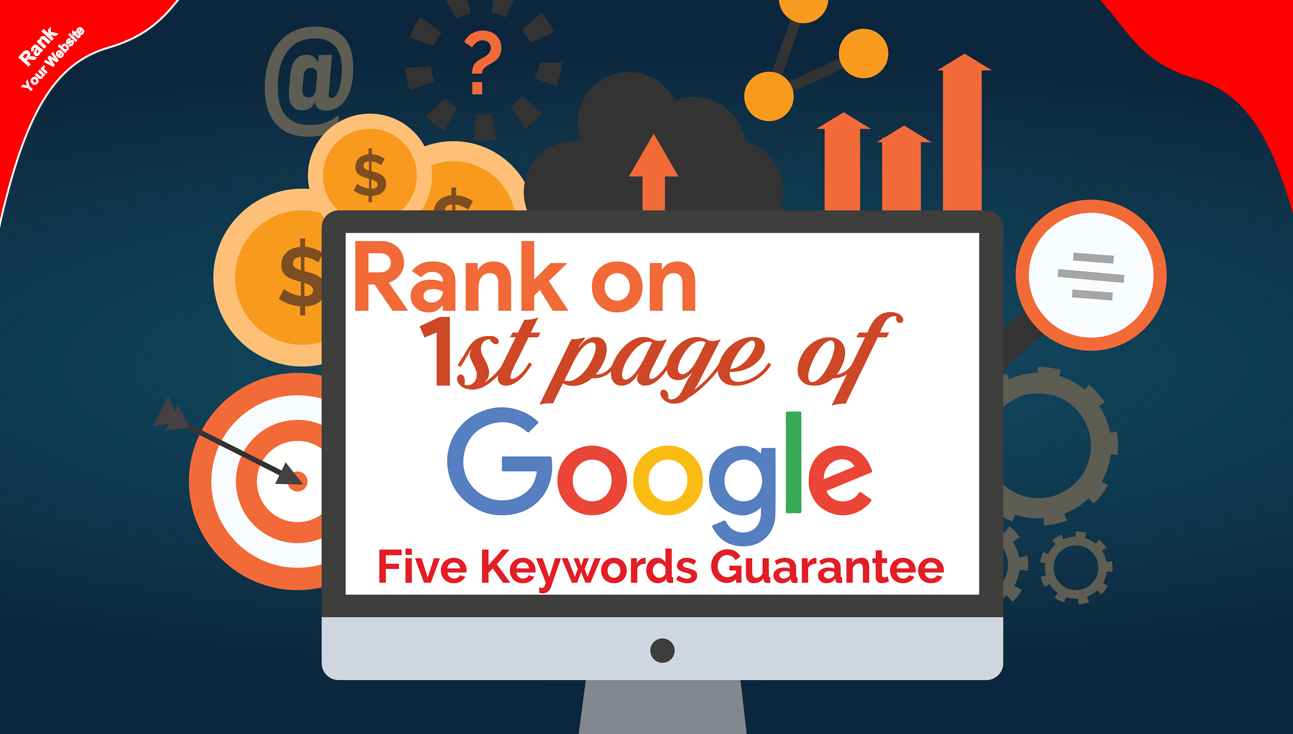 Guaranteed 5 Keywords On Google 1st Page Or Refund-Money Your-Manually Done Backlink Package-Update