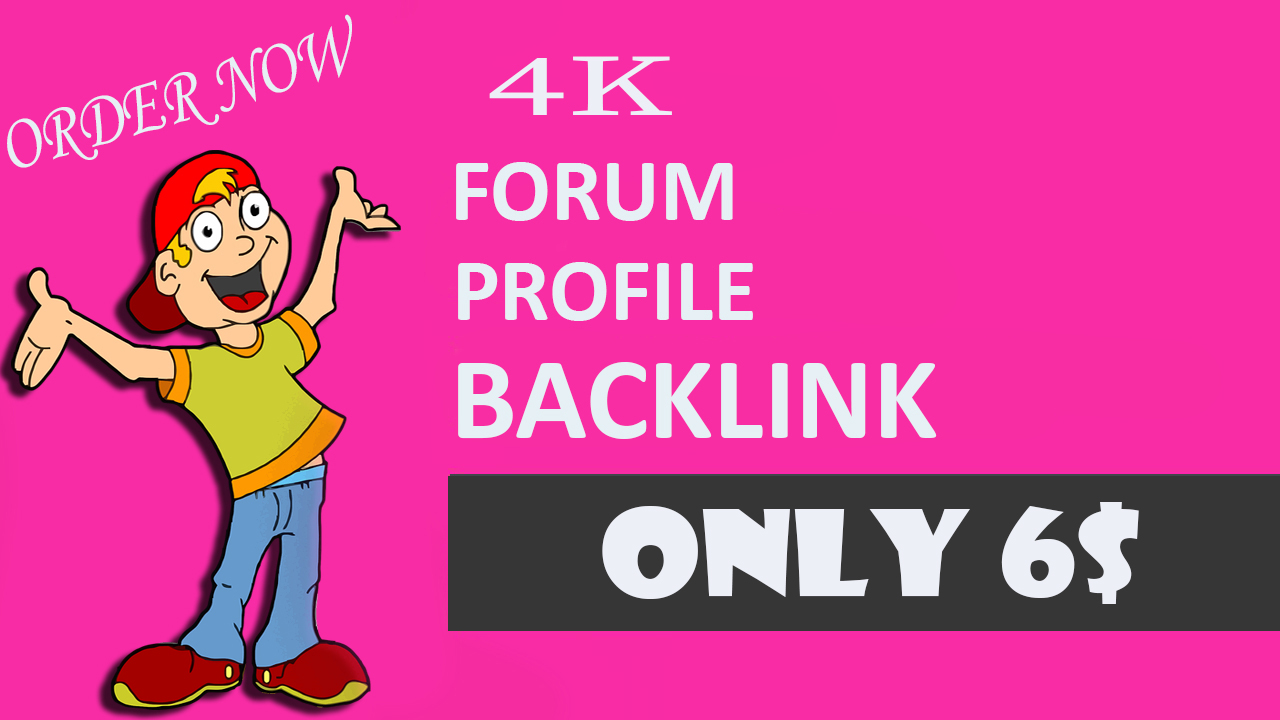 I will pbn 4000 forum profile backlink fast delivery