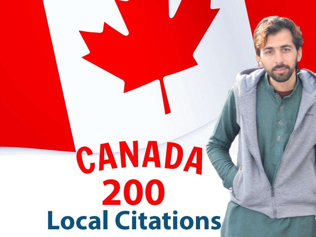 I will do 200 best canada local SEO citations